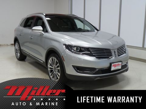 Certified Pre-Owned 2016 Lincoln MKX Reserve Lifetime Warranty AWD