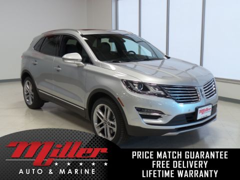 New 2018 Lincoln MKC Reserve Lifetime Warranty AWD