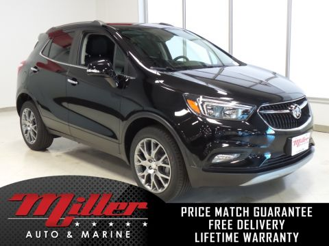 New 2018 Buick Encore Sport Touring Lifetime Warranty AWD