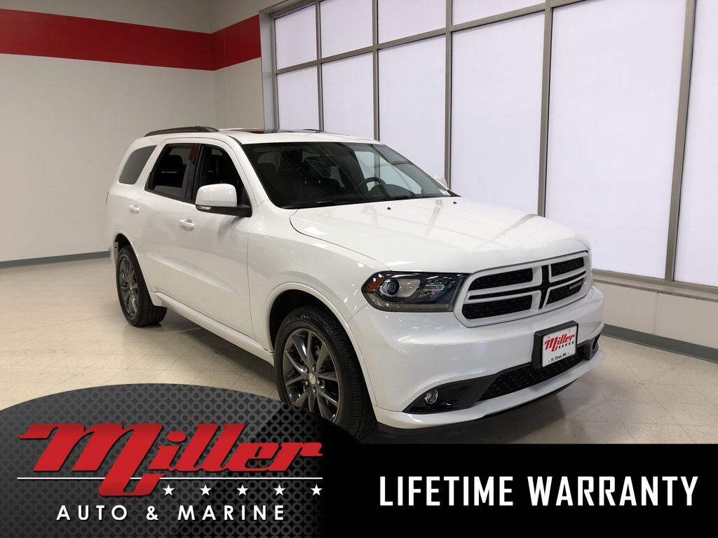 2018 Dodge Durango GT AWD - Lifetime Warranty
