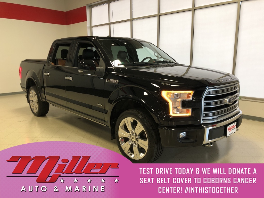 Pre-Owned 2016 Ford F-150 Limited