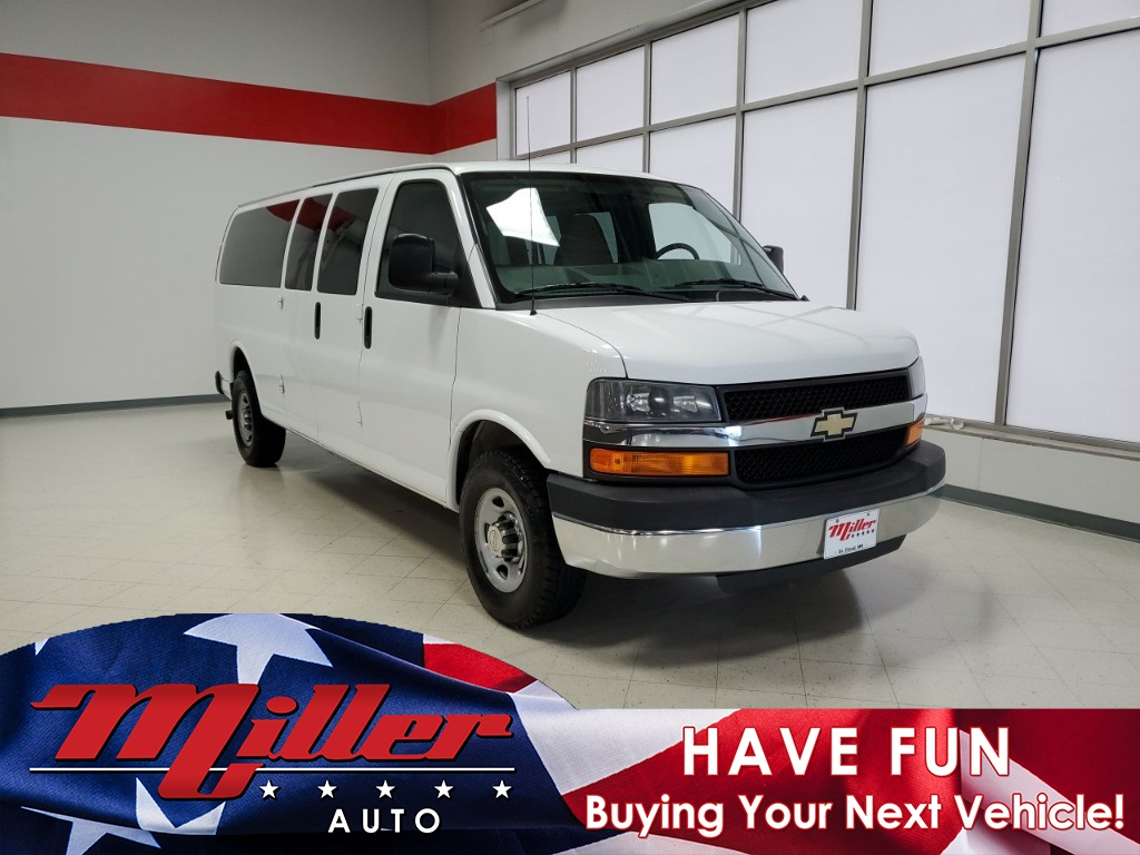 Pre-Owned 2014 Chevrolet Express 3500 LT