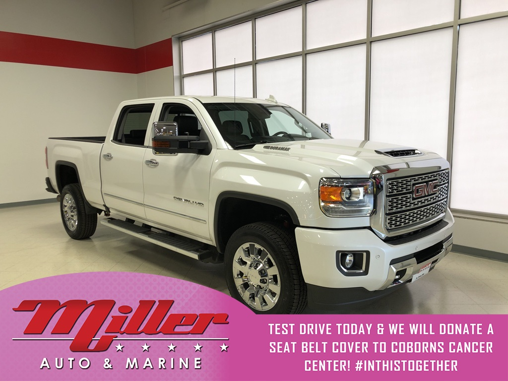 Pre Owned 2019 Gmc Sierra 2500hd Denali Lifetime Warranty 4wd