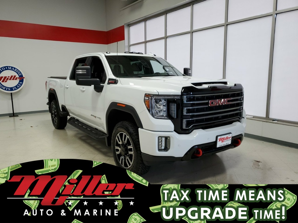 Pre-Owned 2020 GMC Sierra 3500HD AT4
