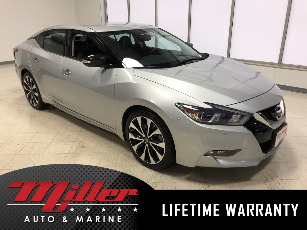Certified Pre Owned 2016 Nissan Maxima Sr