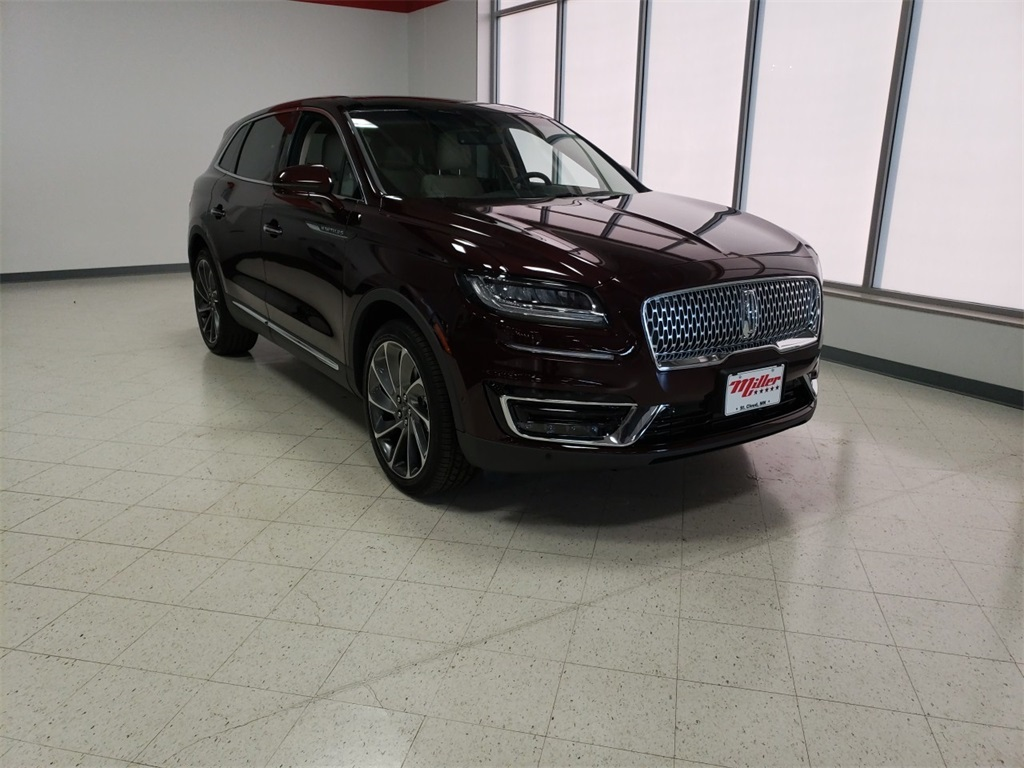 New 2019 Lincoln Nautilus Reserve 4d Sport Utility In St Cloud