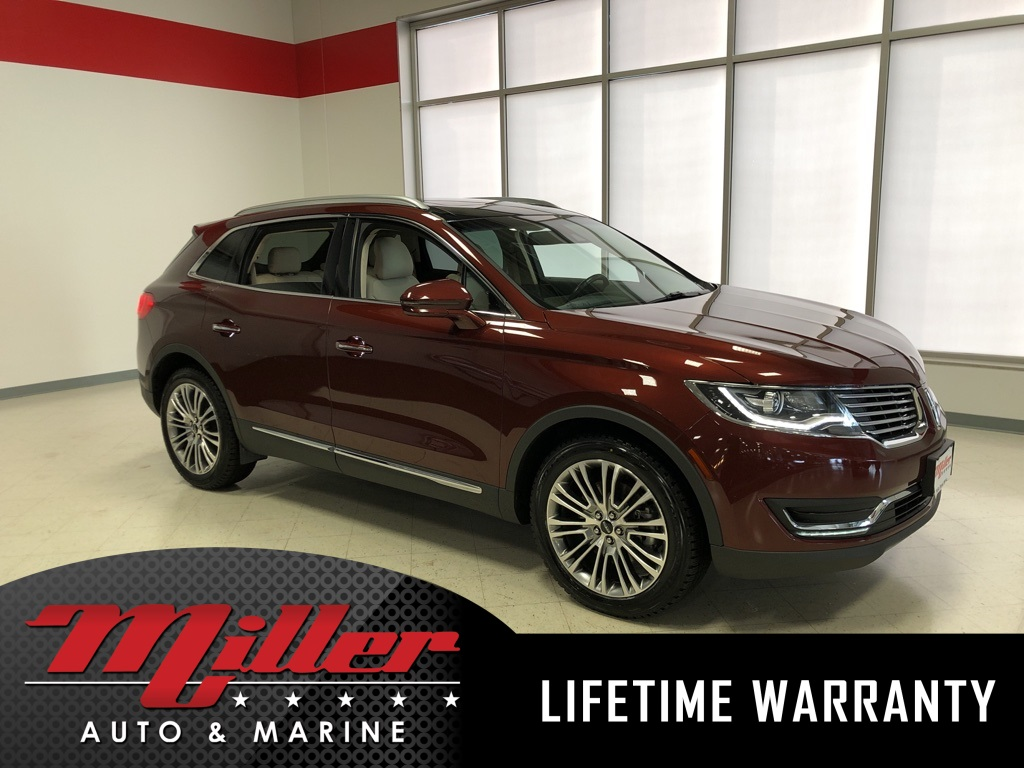 2016 Lincoln MKX Reserve - Lifetime Warranty