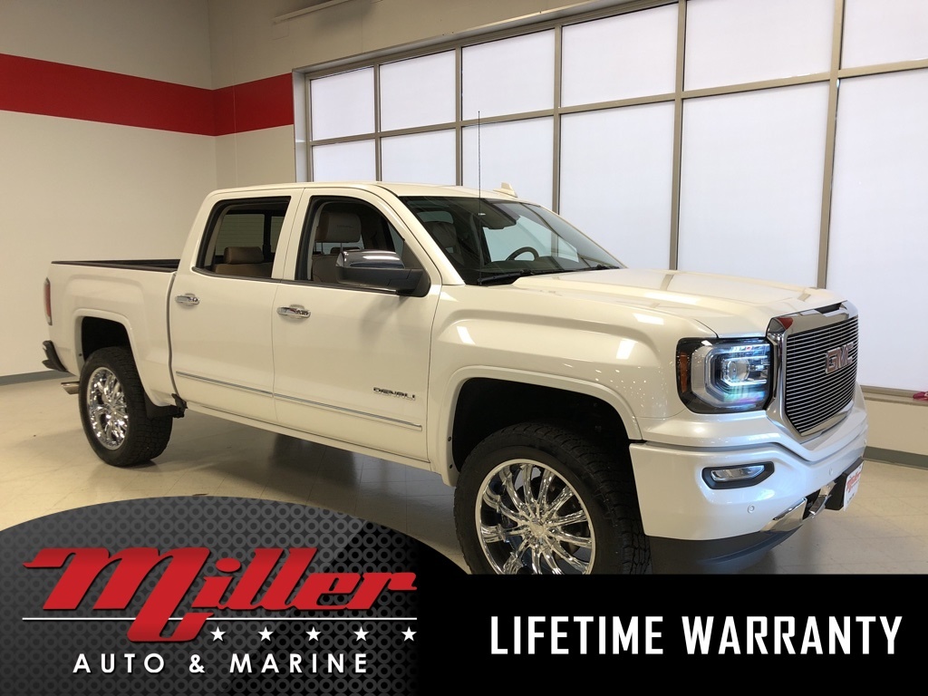 2018 GMC Sierra 1500 Denali - Lifetime Warranty
