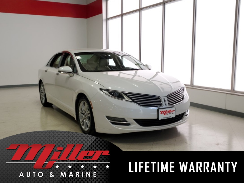Certified Pre Owned 2017 Lincoln Mkz Base