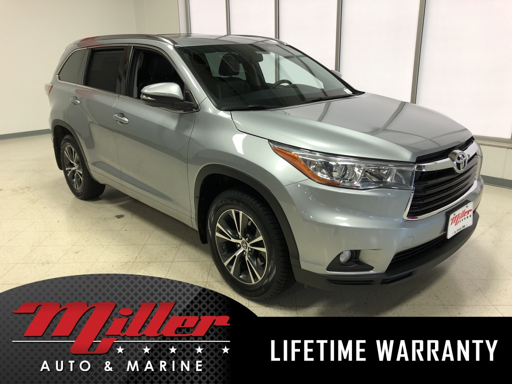 2016 Toyota Highlander XLE V6 - Lifetime Warranty