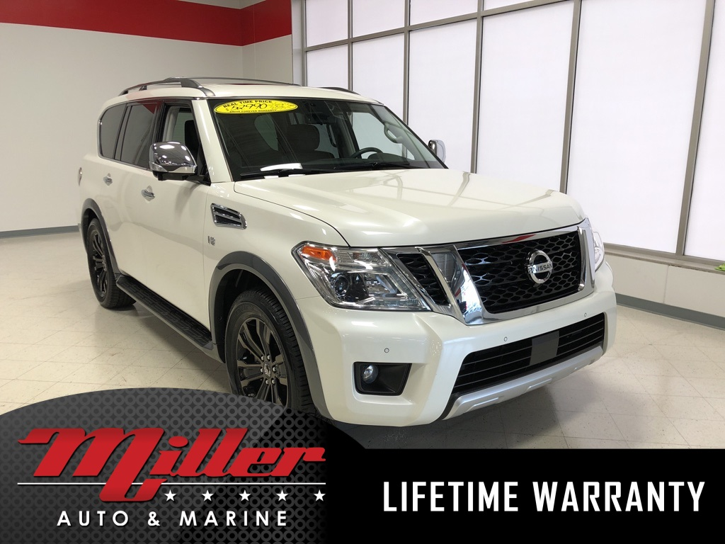 Certified Pre Owned 2018 Nissan Armada Platinum