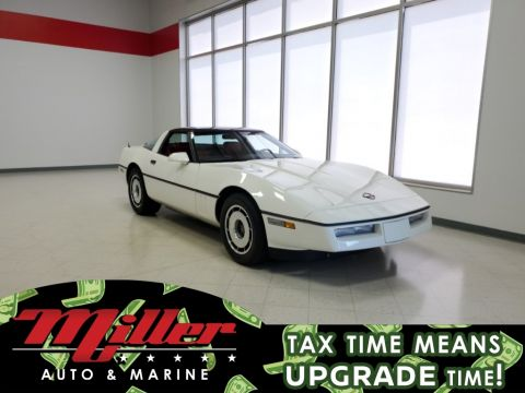 Pre-Owned 1984 Chevrolet Corvette Base