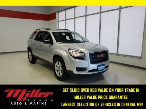 Certified Pre-Owned 2015 GMC Acadia SLE-2